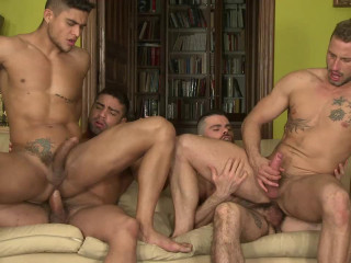 Hot Orgy In The City