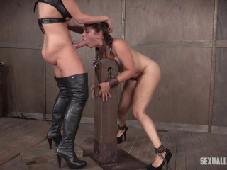 Sexuallybroken - Sweet little Ziggy Star is a slimy strap on slut!