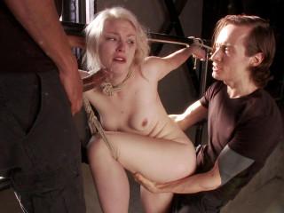 Young Slut takes 2 Massive Cocks (Mickey Mod, Owen Gray)