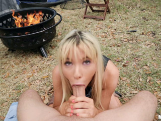 Kenzie Reeves - Backyard Camping for Hottie on House Arrest (2018)