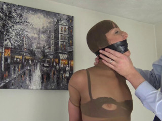 Nylon Encased and Electrical Tape Bound - Slim Milf wrapped