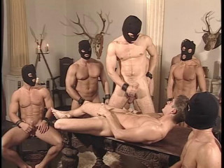 European Mask Fuckers In Hot Orgy