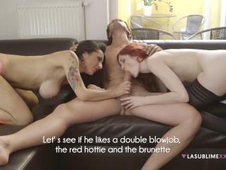 Kattie Gold, Priscilla Salerno - Hot threesome in Praga FullHD 1080p