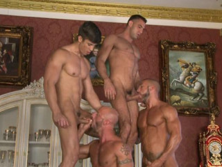 My First Orgy With Muscle Men