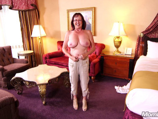 Barbara - Huge natural tits curvy MILF FullHD 1080p
