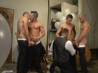 Best Men In Wedding Orgy