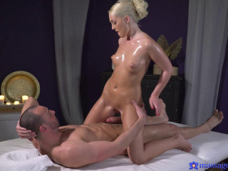 Lovita Fate - Oiled firm young blonde masseuse FullHD 1080p