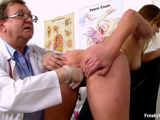 Violet 21 years girls gyno exam (2016)
