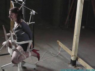 Employee Discipline Rinn Does Volunteer 2 part - Extreme, Bondage, Caning