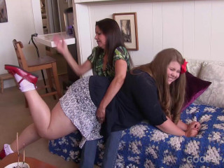GoodSpanking - Chelsea, Christy Cutie - The Orchid Plant