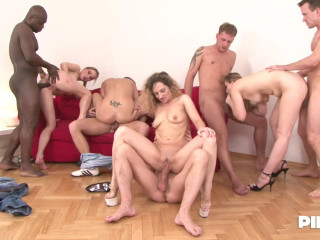 Horny Women Takes Toy Cocks Then Real Cocks
