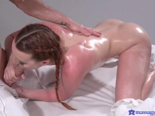 Charlie Red - Sunburnt redhead sloppy oil fuck FullHD 1080p