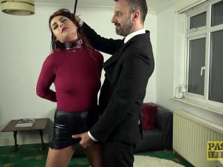 First Porno For Sex-Addicted Slag - Cat Collar - Full HD 1080p