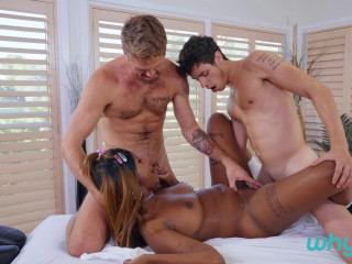 Kaleb Stryker, Wesley Woods, Daizy Cooper Let's Talk About Ass Part 2