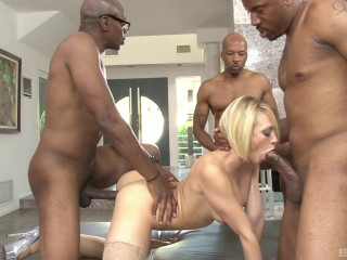 interracial gangbanging sluts scene 2