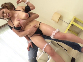 Obedient Busty Maid - Love Milk As Lotion