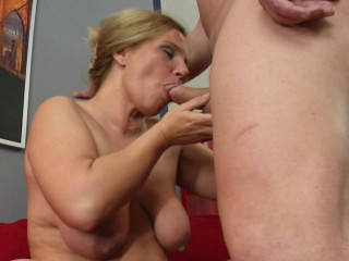 Big as mature Odessa loves to be filled up with a big cock