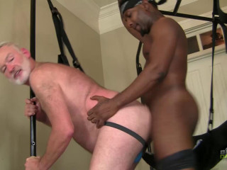 BlacksOnDaddies - Successful Daddy Gets Rock hard Dicking