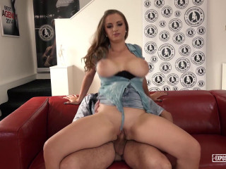 Suzie Sun - Lusty Czech babe gets cum on her big tits in steamy casting fuck (2017)