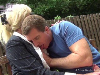 She-male Cougar #4 - Park Lunch