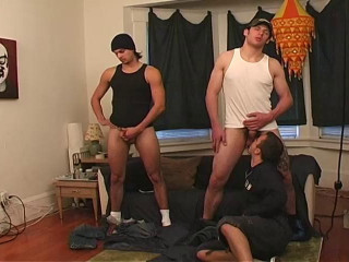 Cum orgy with hard cocks