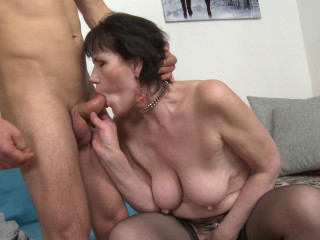 Ryanne  - Horny housewife doing her toyboy FullHD 1080p