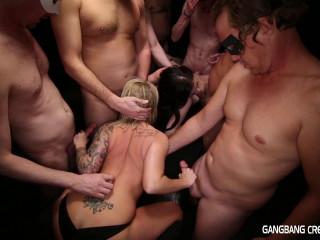 Group sex Internal cumshot 41