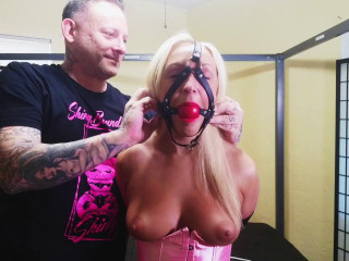 Tied Up in Pink Satin - Amber Deen - Scene 1 - HD 720p