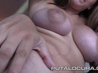 big boob spanish daniela get fucked by fat guy