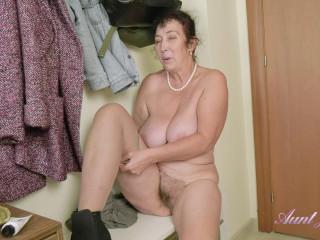 Esmerelda - Classy Attire Hallway Masturbation
