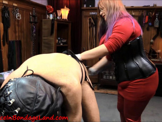 Caning And Pegging - FemDom Punishment - Strap-On Reward
