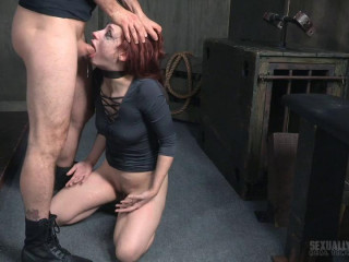 Violet Monroe Rafters Part 3: Double stuffed, strapped and toughly fucked. Deep throated made to cum!