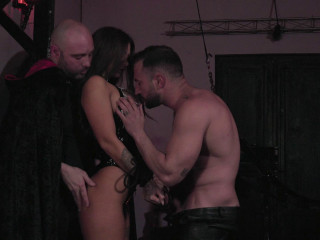 Susy Gala - Threesome in a Dungeon FullHD 1080p