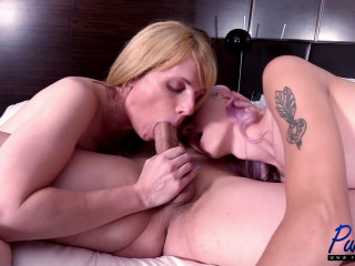 Amy Nowell & Lily Black - Sexy & Sensual Threesome