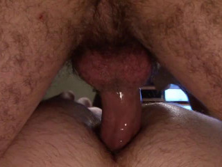 Real men size in hard anal
