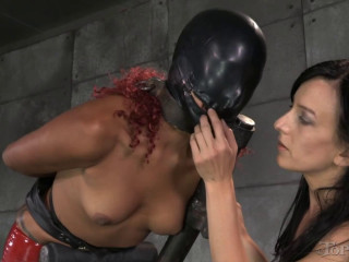 Bondage, spanking, strappado and torture for sexy bitch part 2