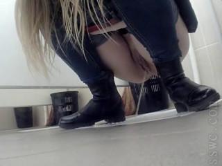 Hidden Camera In The Women's Toilet - Part 228
