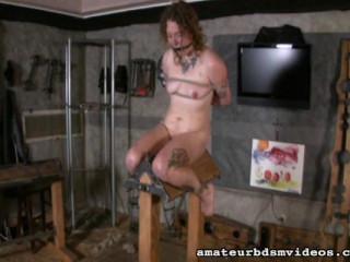 Sm restrain bondage ejaculation non stop