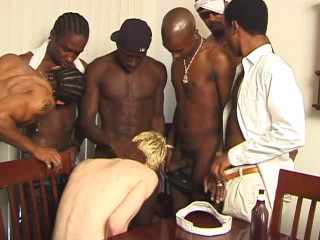 Chocolate Orgy With White Slut