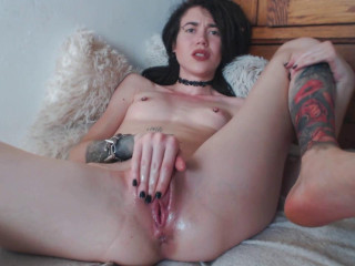 Lube Slapping Going knuckle deep and Bottle