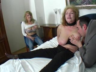 Grandmas share cock