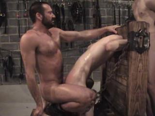 Restrain bondage Orgy