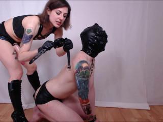 Pounding My Slave Balls Deep