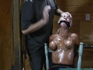 Thighs Spread Chair Tie for Amanda Fox - Part 2