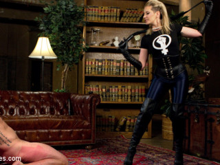 Maitresse Madeline Dick Drains New Slave With Her Evil Femdom Pussy!