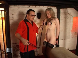 Slave M's breast Torment