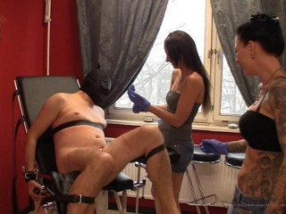 Nasty Ball and Pee Torture - Miss Cherie