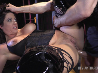 Holly Heart raunchy anal Domination & submission