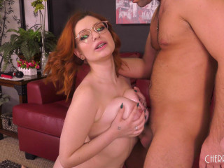 Voluptuous Redhead Annabel Red Loves Titty Fucking Live FullHD 1080p