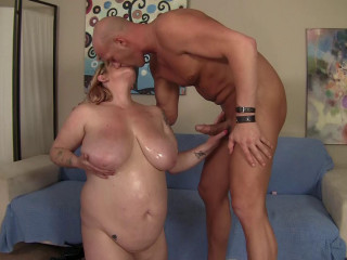 Supah big-titted new Plus-size gets lubed up and fucked stiff